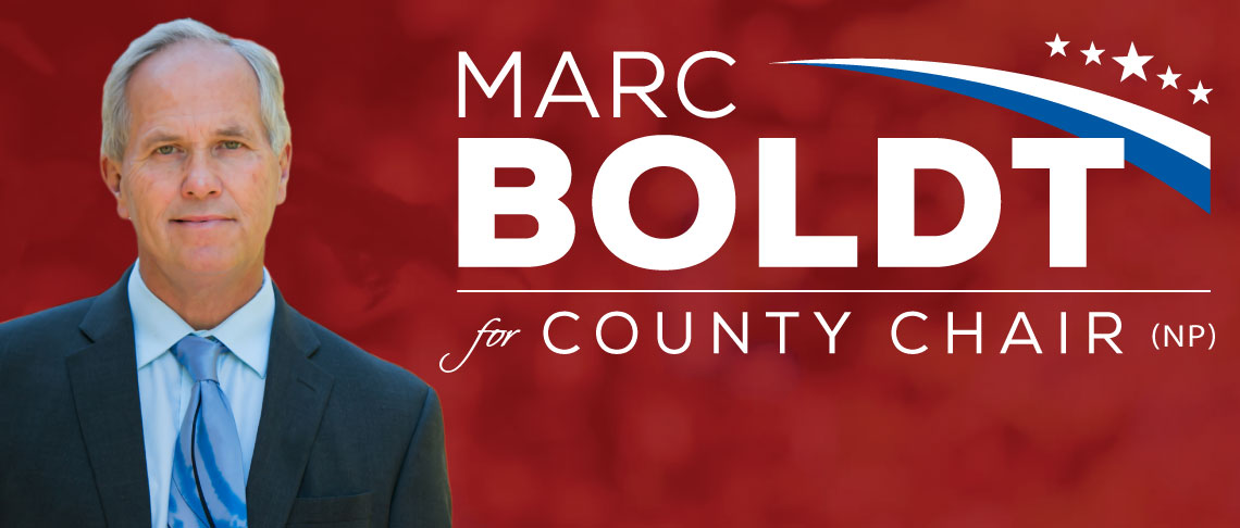 Mark Boldt for Clark County Chair